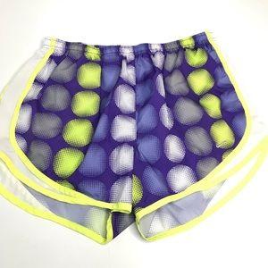 Nike Women's L Running Shorts Purple